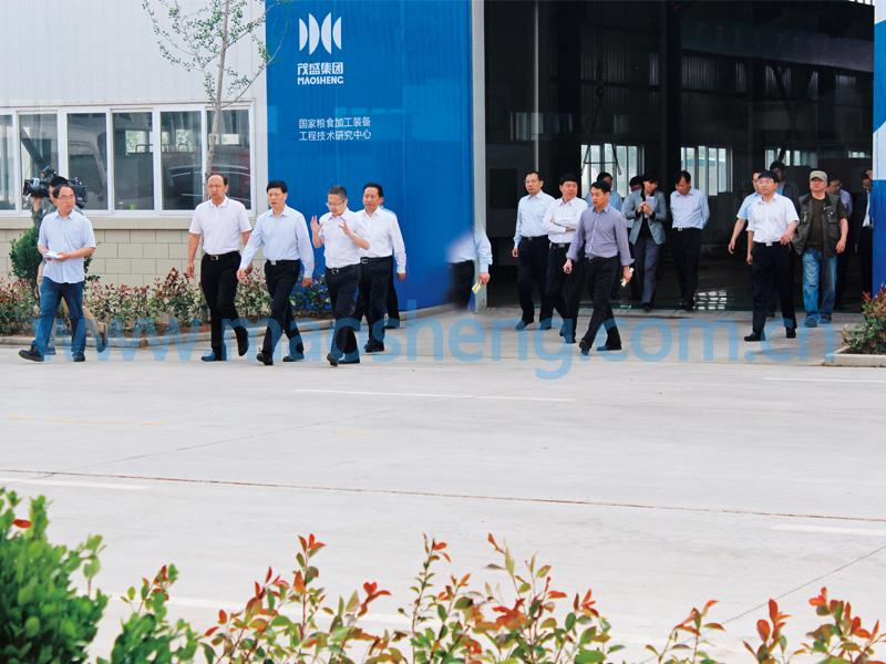 Governor of Henan Xie Fuzhan visited our company